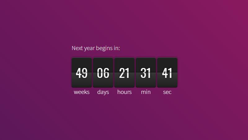 Demo image: jQuery.countdown