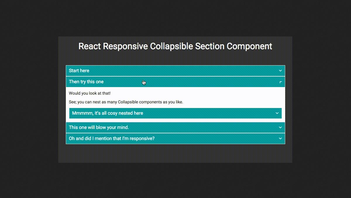 Demo image: react-collapsible