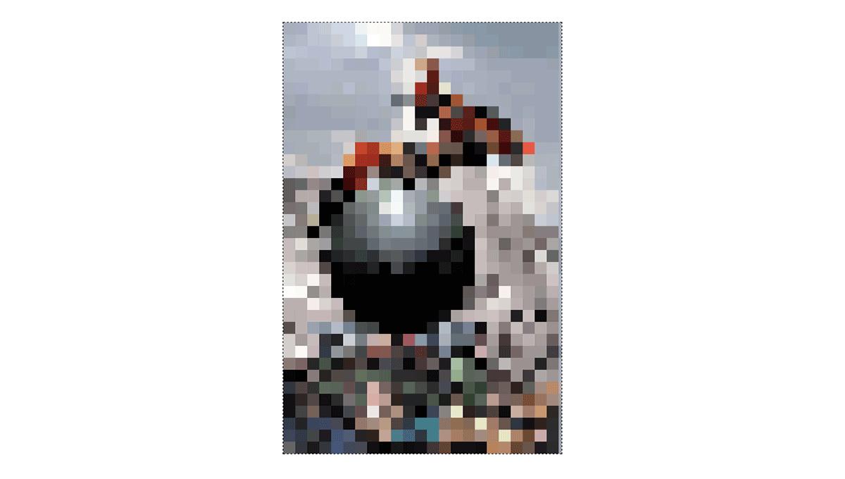 Demo image: Pixelate