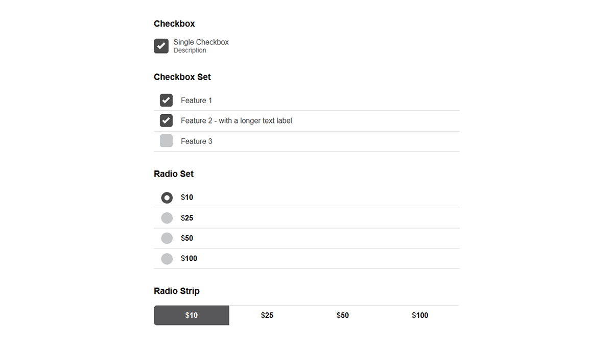 Demo image: Checkboxradio