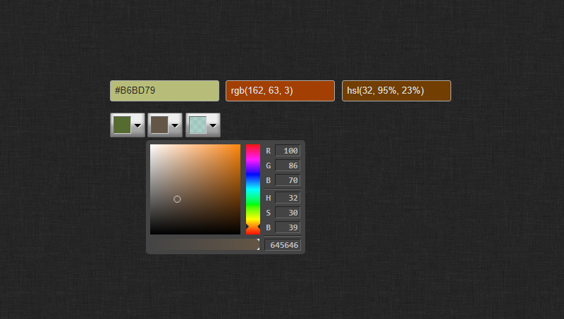 thumb image: Color Pickers