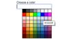 Demo image: Simple Color Picker
