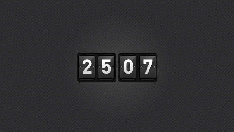 Demo image: jQuery Countdown