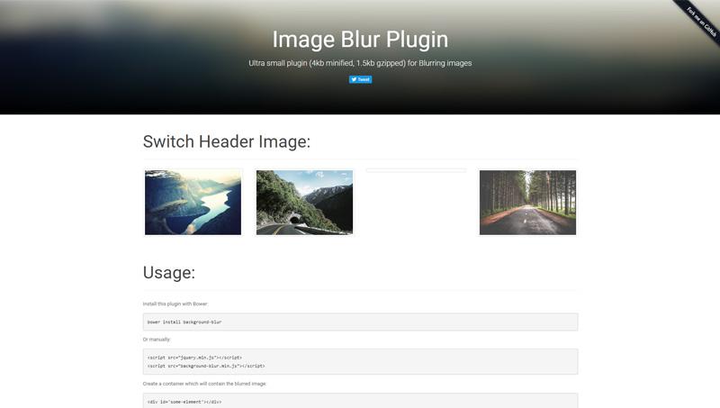 Demo image: Background Blur