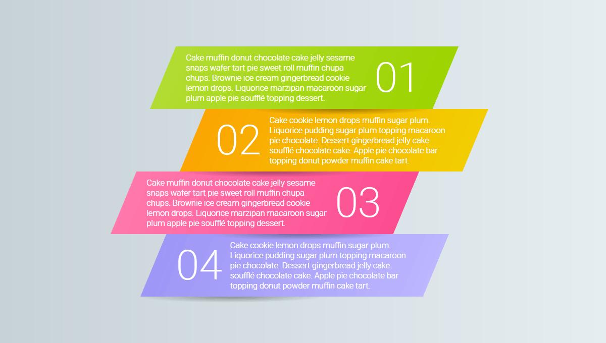 Demo image: Responsive Infographic