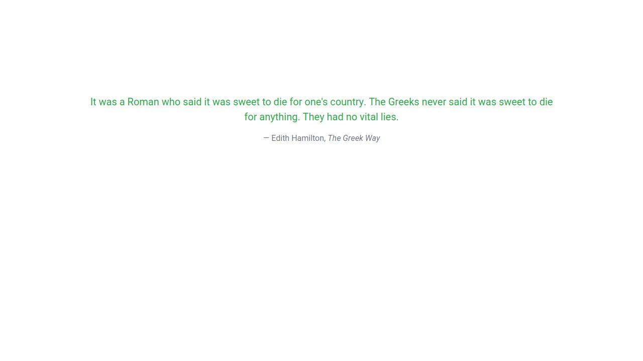 Demo image: Bootstrap 4 BlockQuote