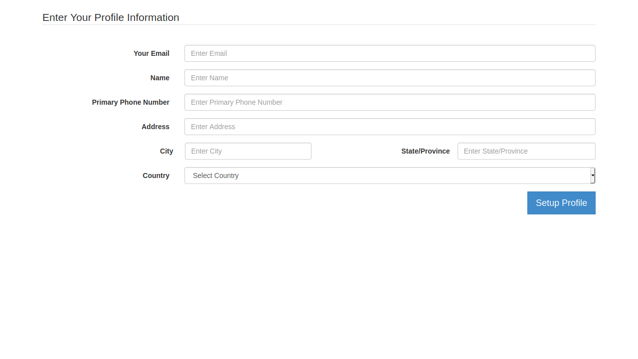 Demo image: Bootstrap Payment Wizard Form