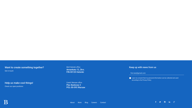 Demo image: Bootstrap 4 Responsive Footer