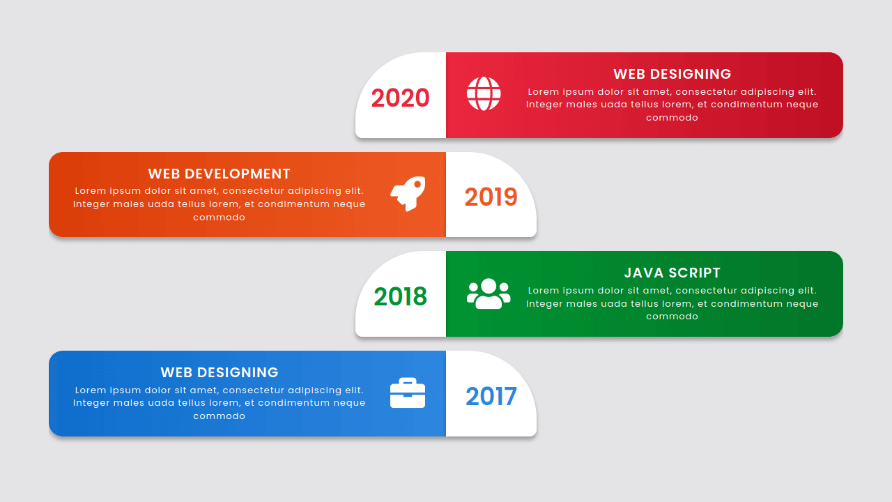 Demo image: Bootstrap Timeline Style