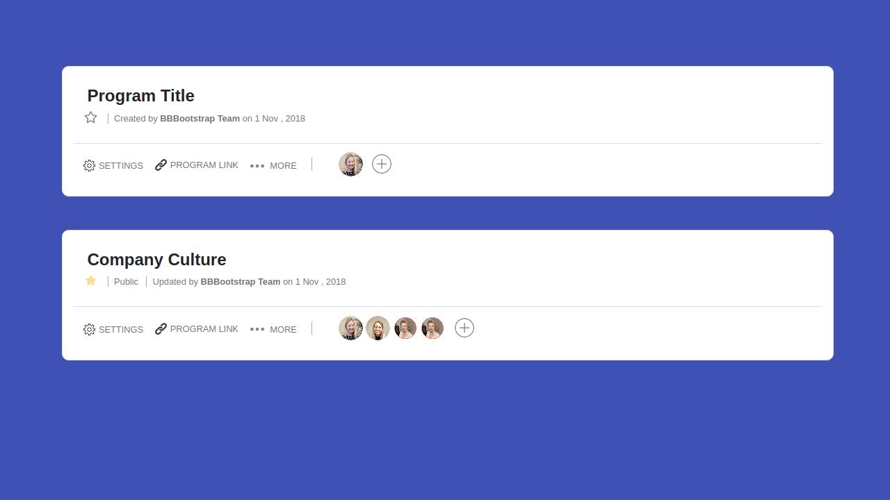 Demo image: Bootstrap 4 Single Listing