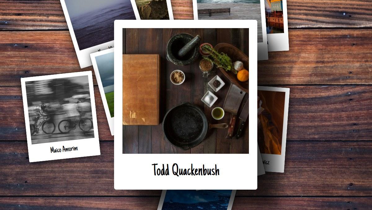 Demo image: Interactive Pile O' Polaroids
