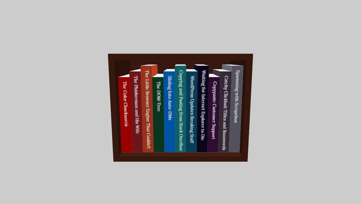 Demo image: 3D Book Browsing