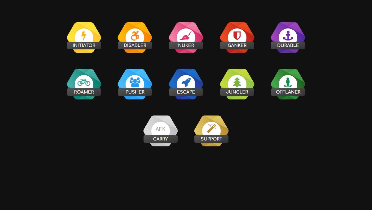 Demo image: Hexagon Badges
