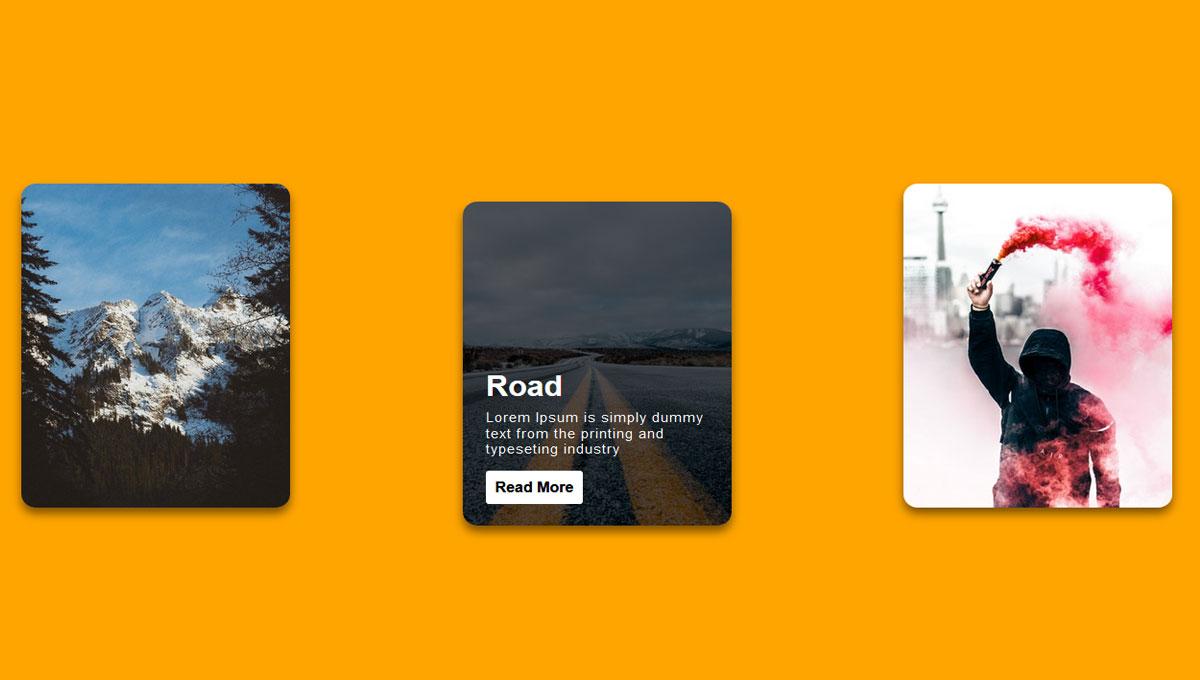 Demo image: Card Transition