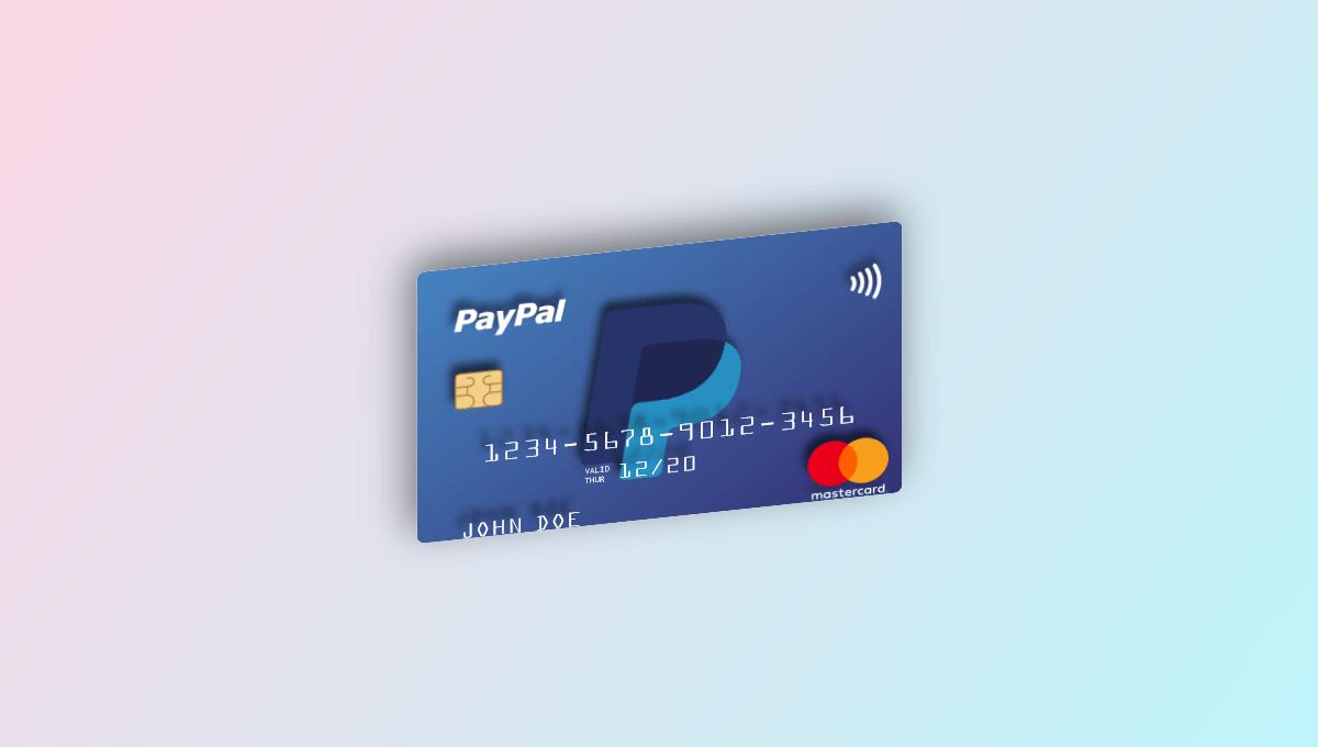 Demo image: 3D Floating Credit Card