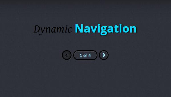 Demo Image: Dynamic Page Controls