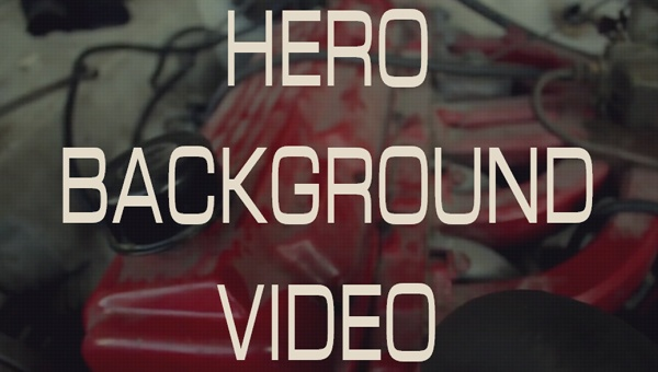 Demo Image: Hero Video