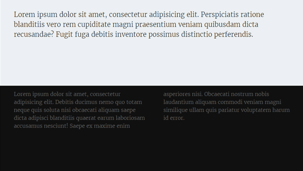 Demo Image: HTML And CSS Fixed Footer