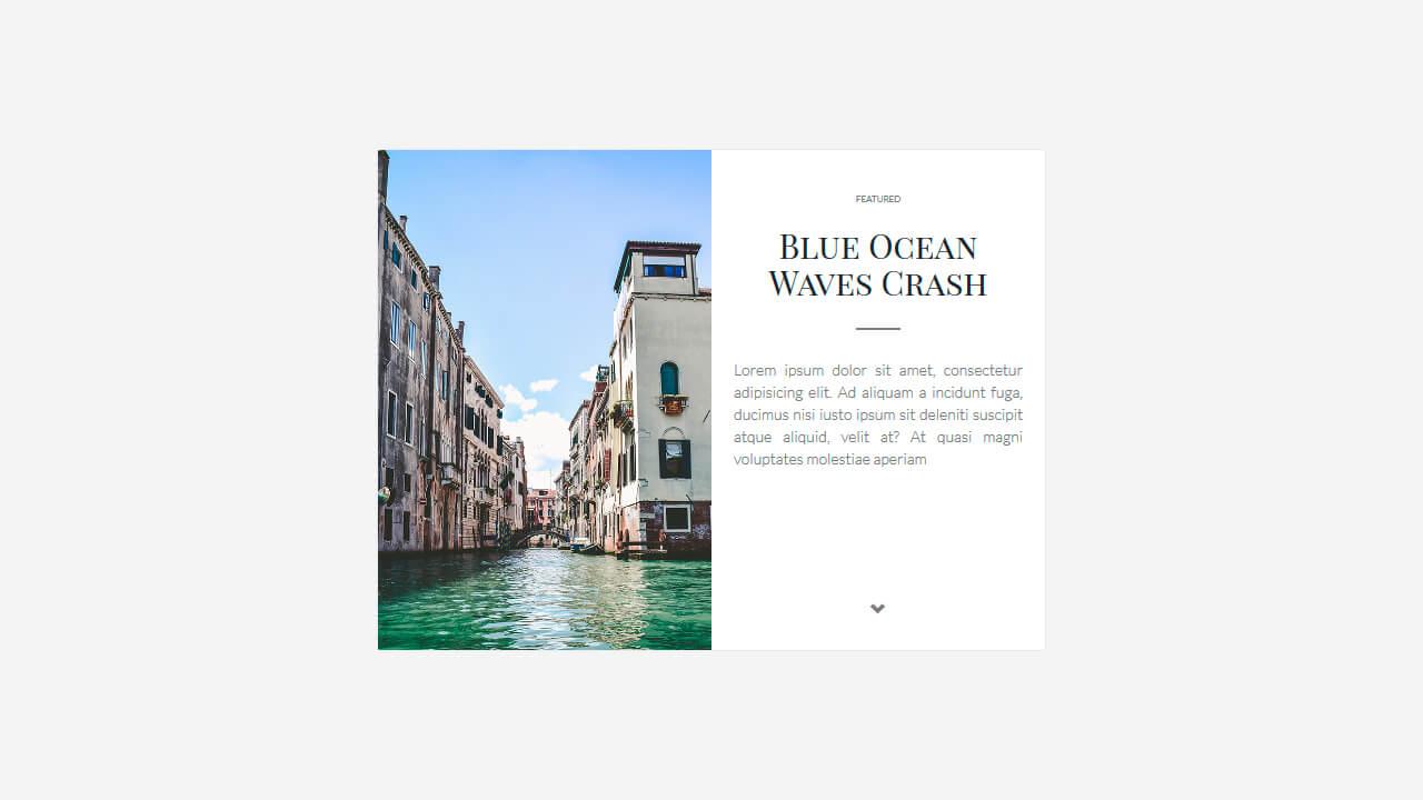 Demo image: Large Blog Card