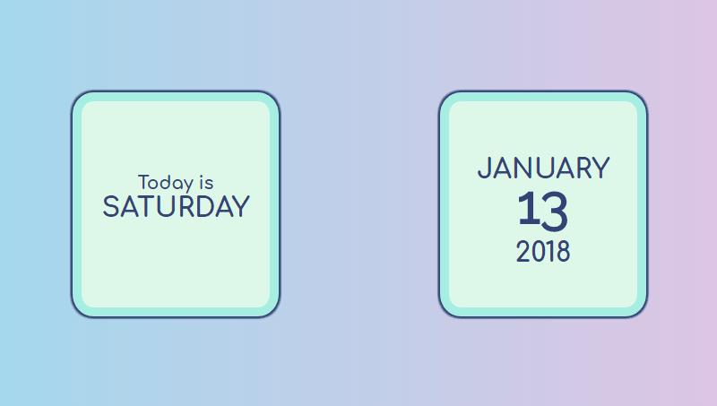 Demo image: Calendar