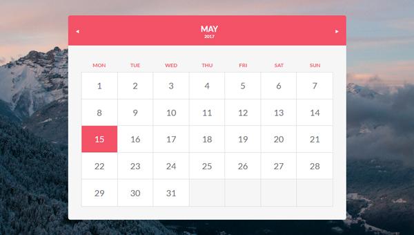 Demo Image: Calendario