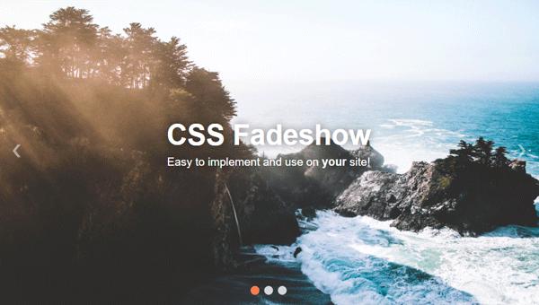 Demo Image: CSS Fadeshow
