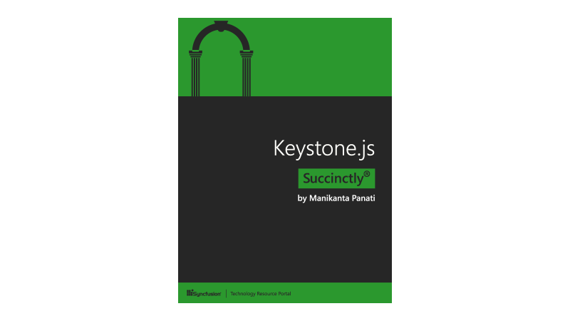 Cover book: Keystone.js Succinctly
