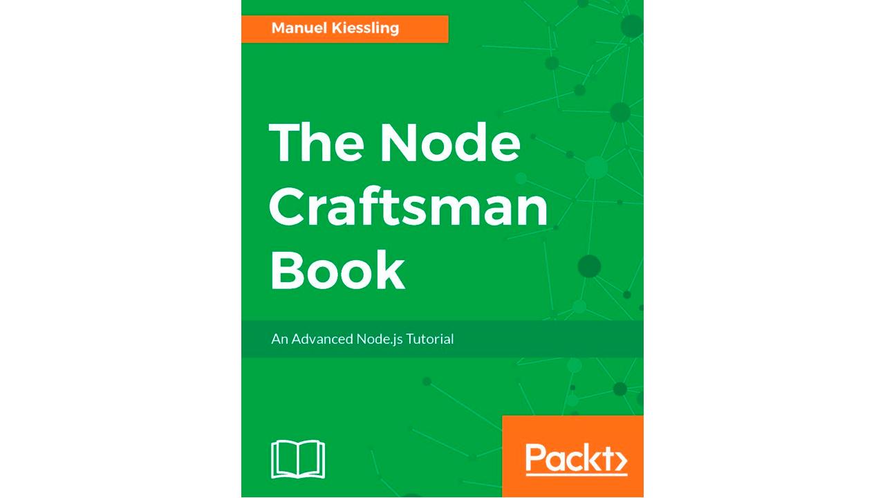 Book image: The Node Craftsman Book