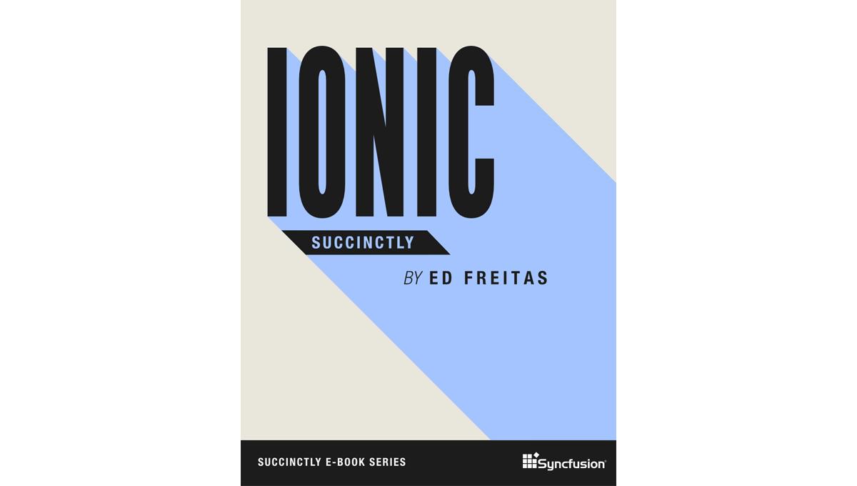 Book image: Ionic Succinctly