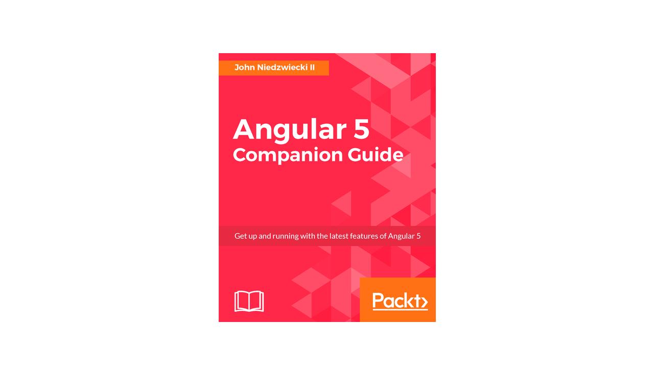 Book image: Angular 5 Companion Guide