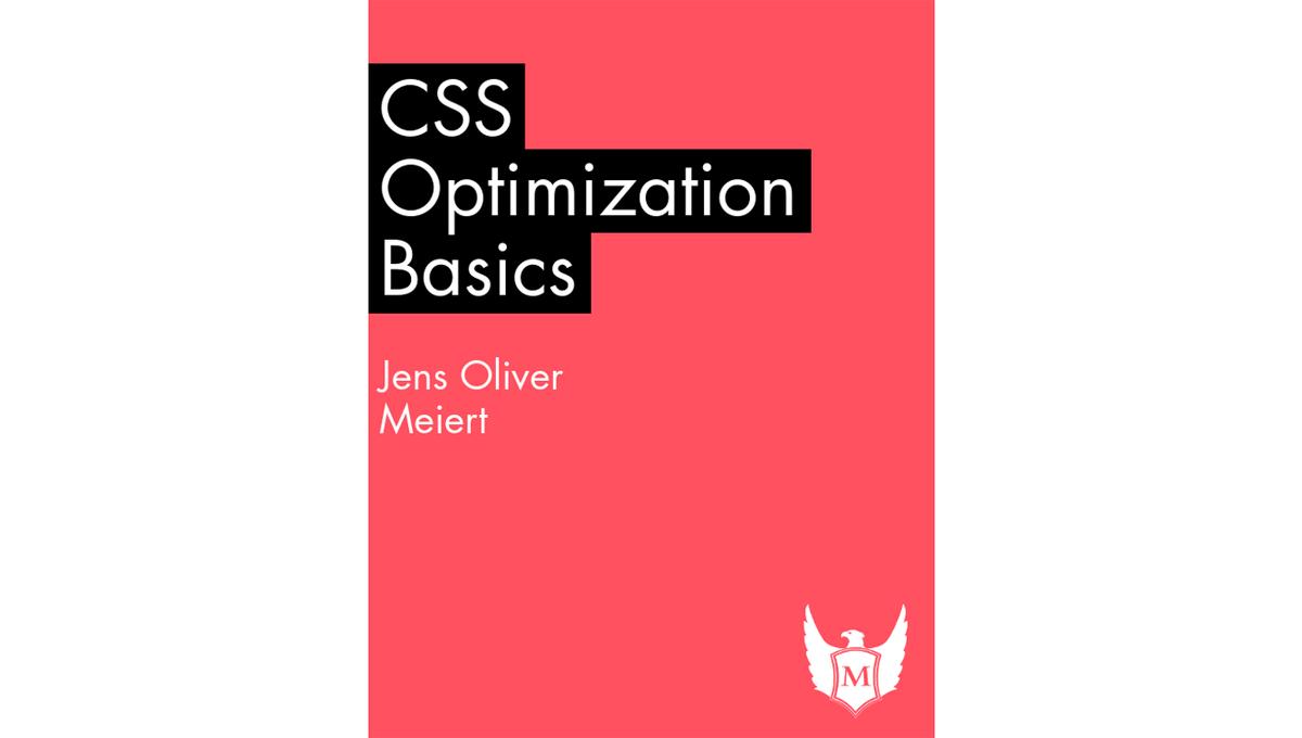 Book image: CSS Optimization Basics