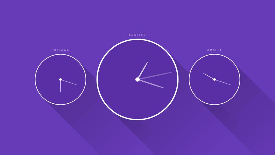 Demo image: Clocks