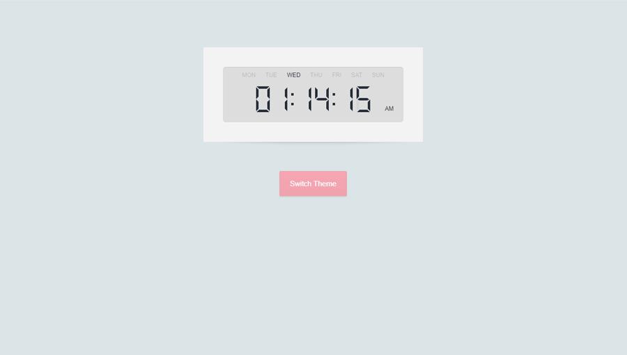 Demo image: Digital Clock