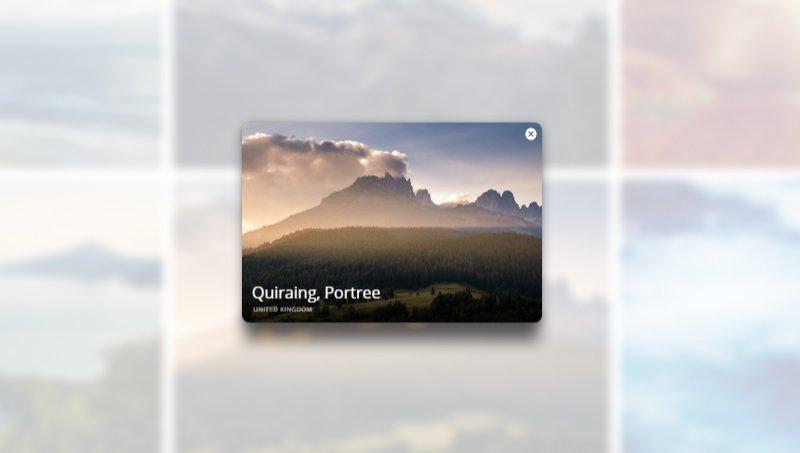 Demo Image: Popup / Overlay