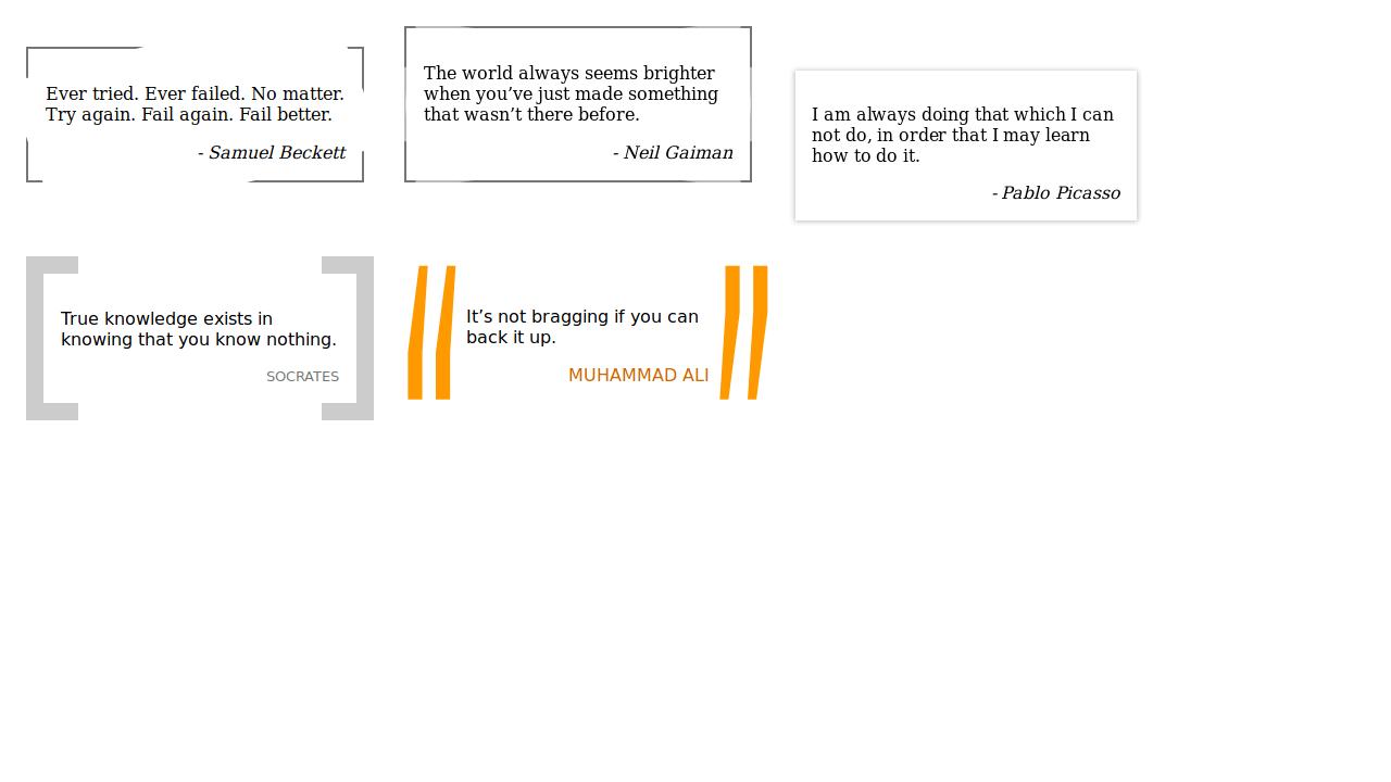 Demo image: Blockquote Styles