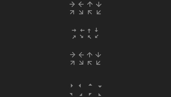 Demo Image: Pure CSS Arrows