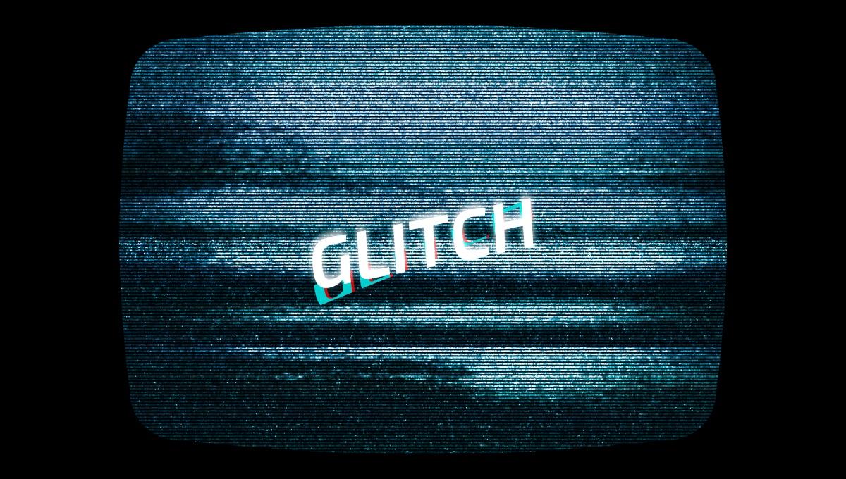 Demo image: CSS Glitch Text