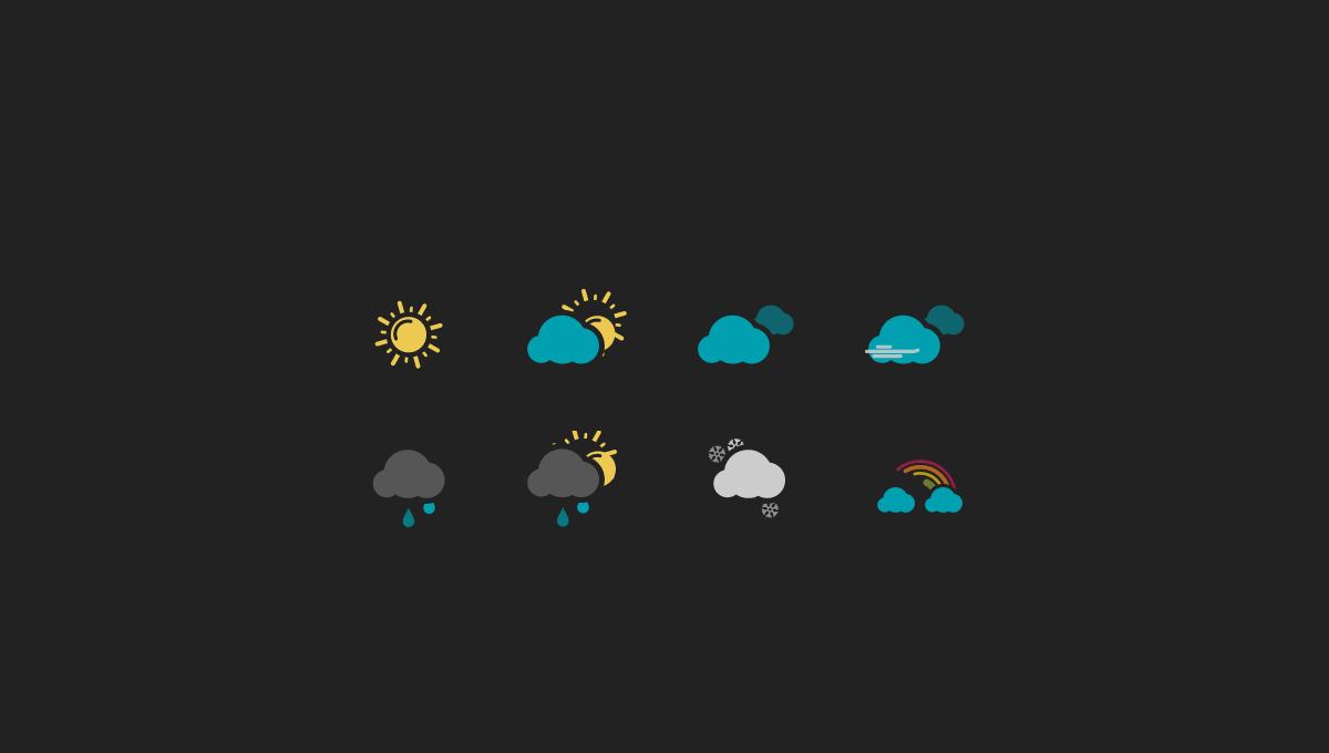 thumb image: Weather Icons