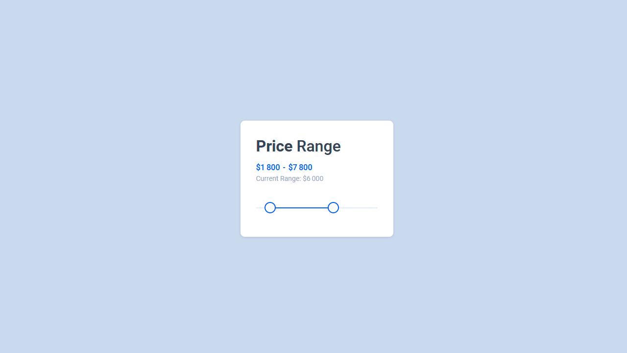 thumb image: jQuery Range Sliders