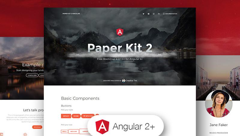 Demo image: Paper Kit 2 Angular