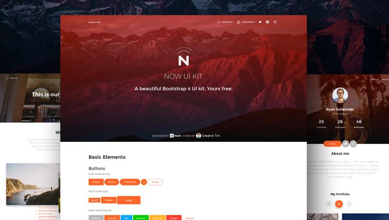 Demo image: Now UI Kit