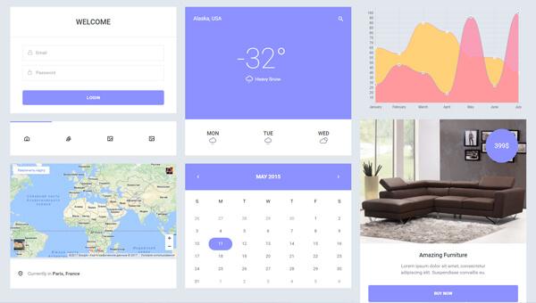 Demo Image: Epic UI Kit a Flat Bootstrap