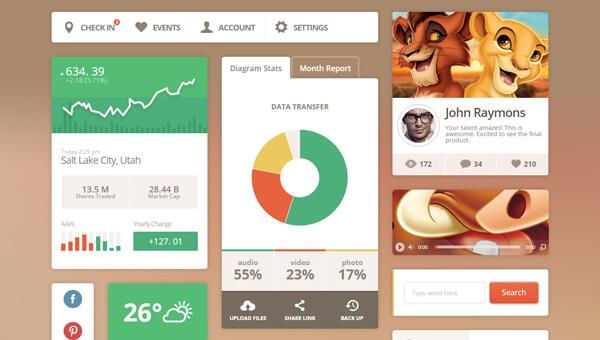 Demo Image: Metro Vibes Bootstrap UI Kit