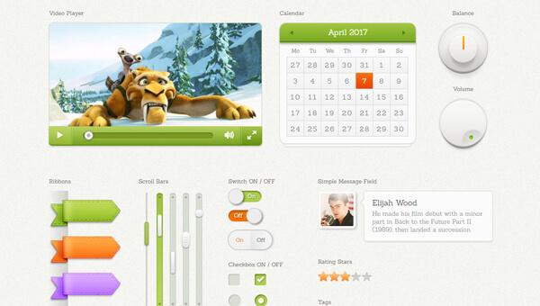 Demo Image: Chubby Stacks Bootstrap UI Kit