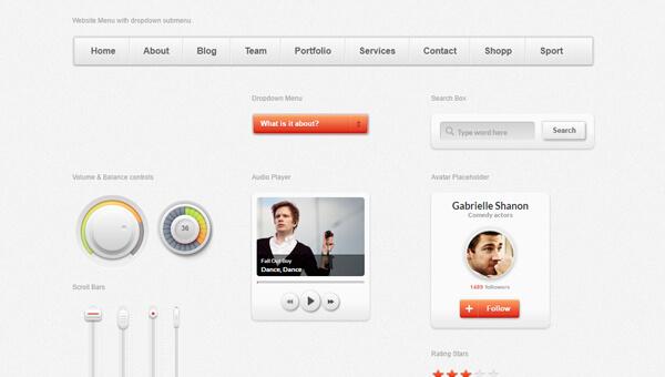 Demo Image: Arctic Sunset Bootstrap UI Kit