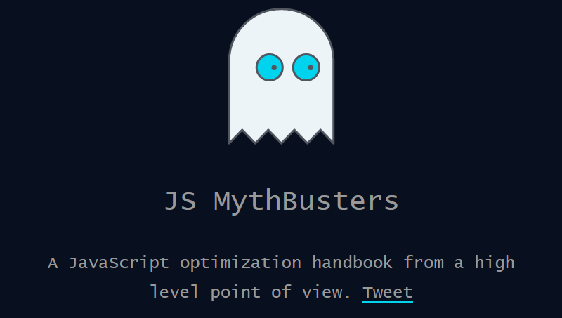 Cover book: JS MythBusters