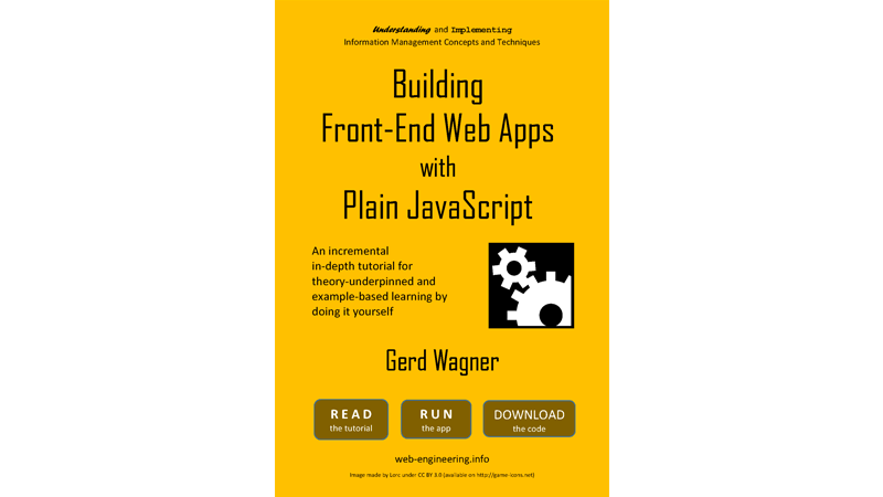 Cover Image: Building Front-End Web Apps With Plain JavaScript