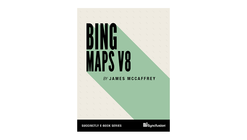 Cover book: Bing Maps V8 Succinctly