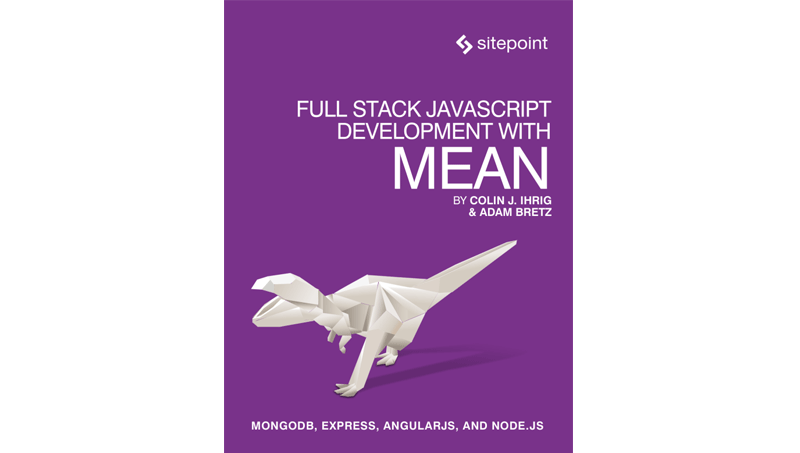 Cover book: Full Stack JavaScript Development With MEAN