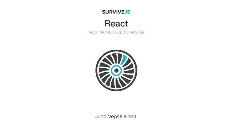 Cover book: SurviveJS - React